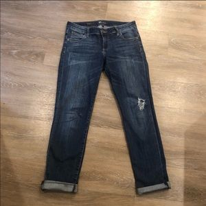 Kut From The Cloth Distressed Boyfriend Jeans